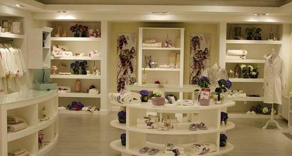 ferah mağaza dekorasyonu, şık mağaza dekorasyon