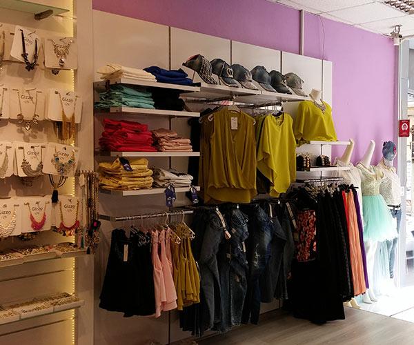 giyim mağaza raf dizaynı raf tasarımı