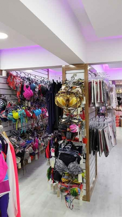iç giyim mağaza dekorasyonu iç giyim mağaza dizaynı