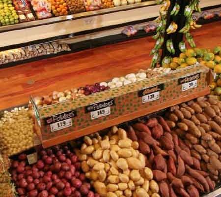 market dekorasyon manav reyonu
