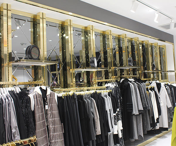 tekstil giyim mağaza dekorasyonu izmir