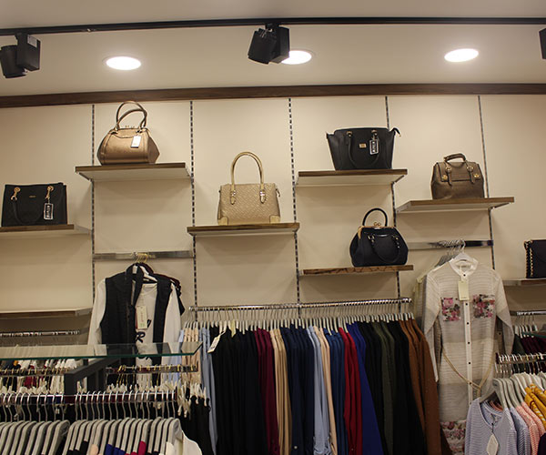 tekstil giyim mağaza dizaynı