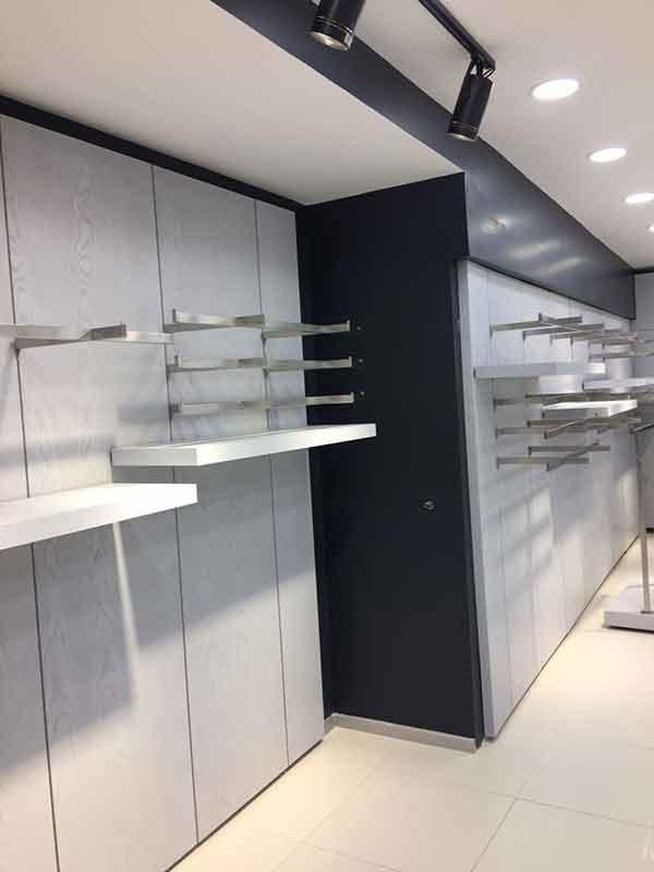 mağaza dekorasyonu izmir mağaza raf sistemi mağaza dizaynı